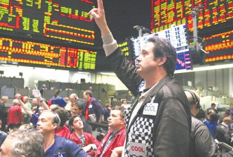 S&P 500 Trading Activity At The CBOT