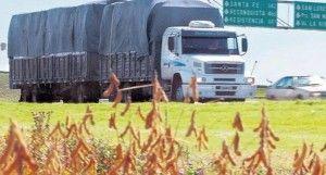 transporte de granos y cereales